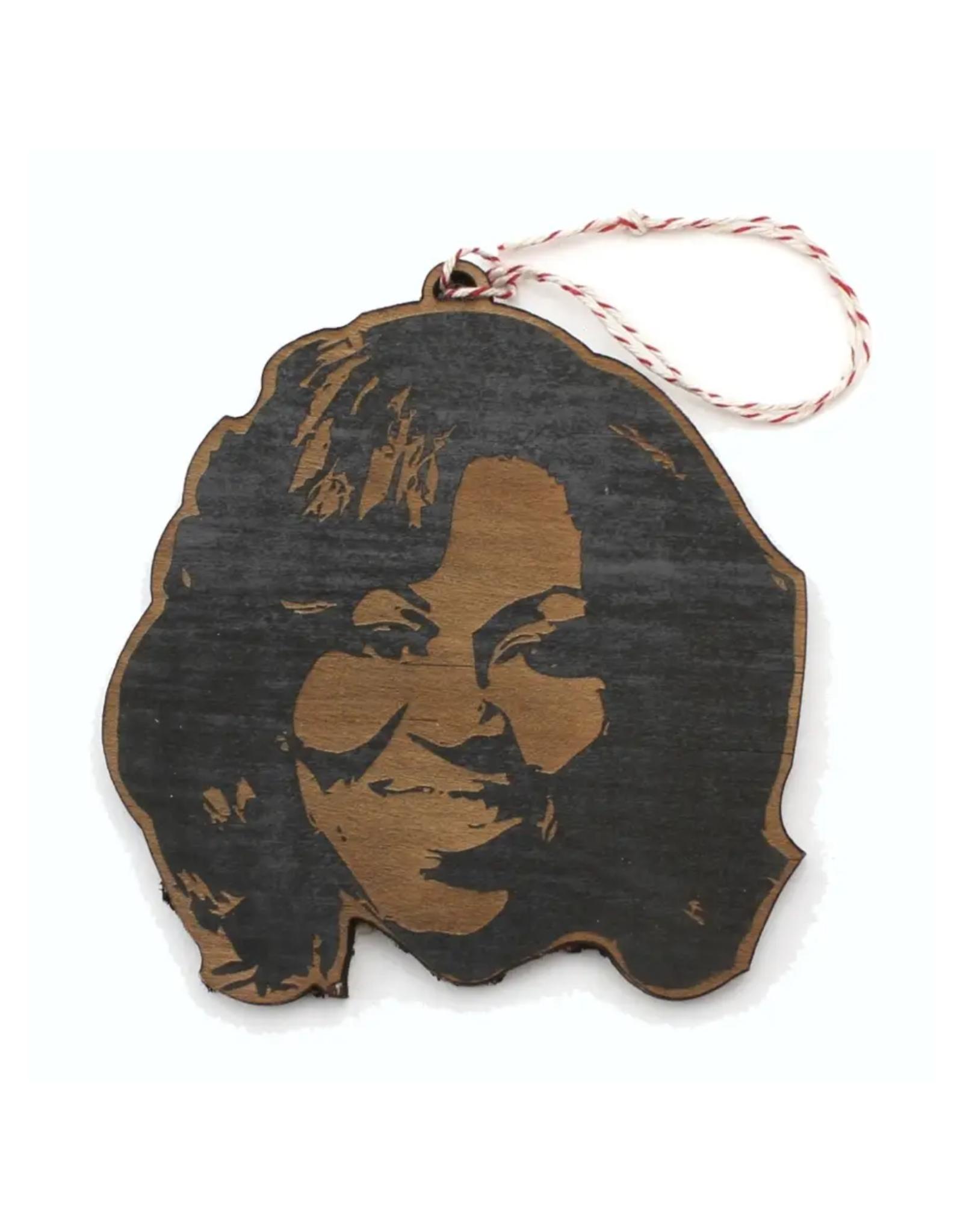 Michelle Obama Wooden Ornament