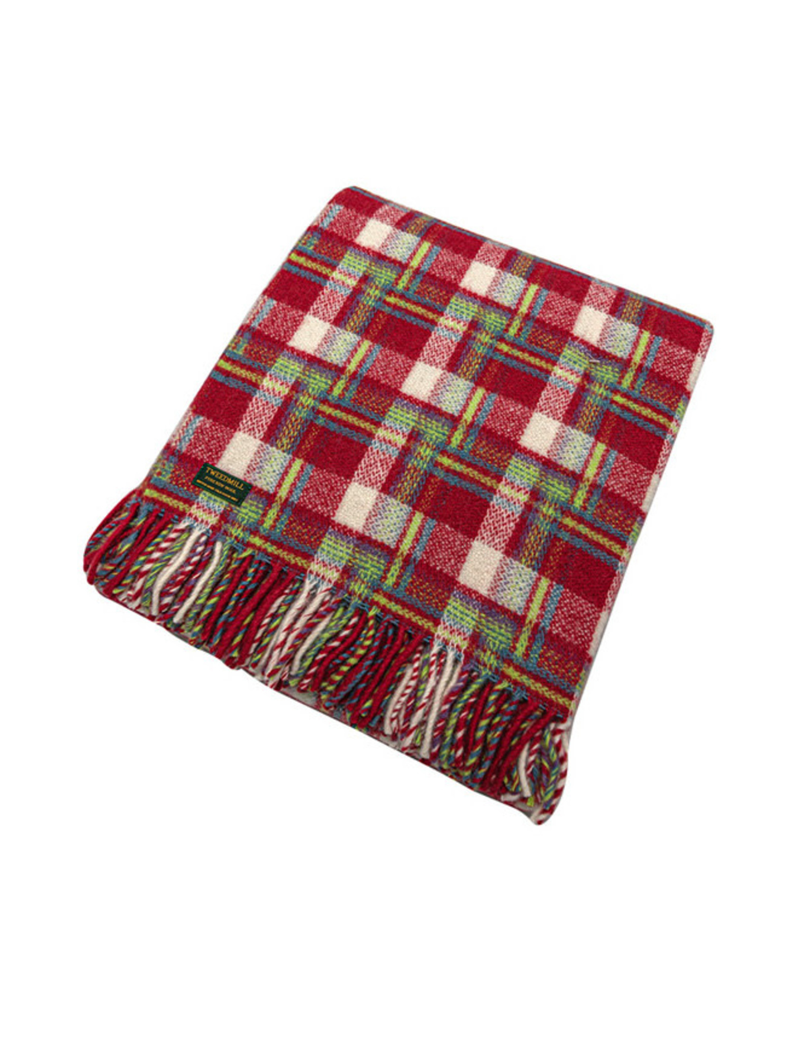Welsh Wool Throw - Amelia Check