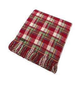 Birchwood Trading Co. Welsh Wool Throw - Amelia Check