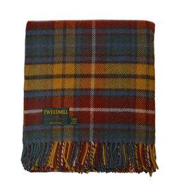 Birchwood Trading Co. Welsh Wool Throw - Antique Buchanan
