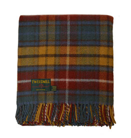 Welsh Wool Throw - Antique Buchanan