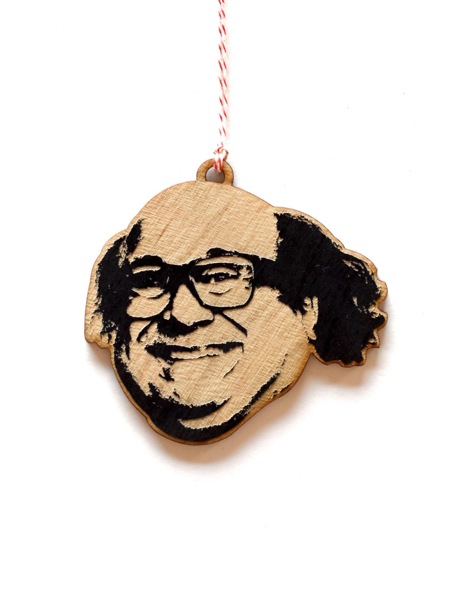 Danny Devito Wooden Ornament