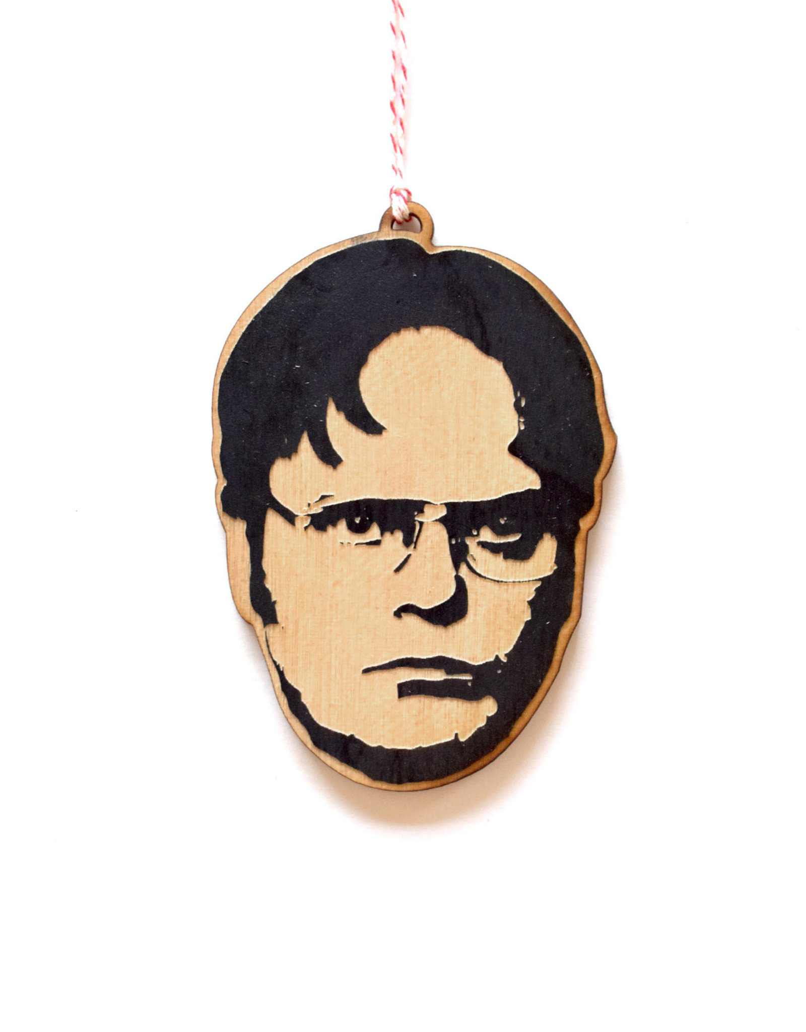 Dwight Schrute Wooden Ornament