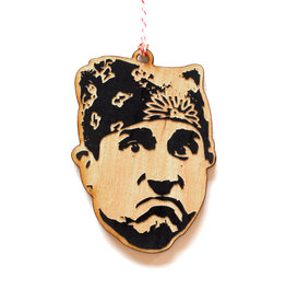 Prison Mike (Steve Carell) Wooden Ornament