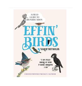Effin' Birds Undated Planner