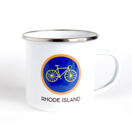Rhode Island Camp Mug - Bicycle