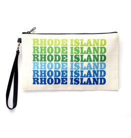 Rhode Island Repeat Zipper Pouch