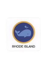 Rhode Island Whale Sticker