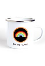 Rhode Island Camp Mug - Rainbow