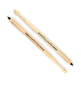Drum Stick Pens Set of 2