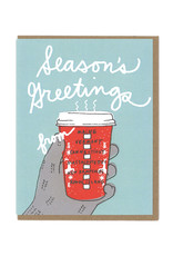 New England Greetings Coffee Cup Box Card Set