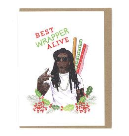 Lil Wayne Best Wrapper Christmas Card