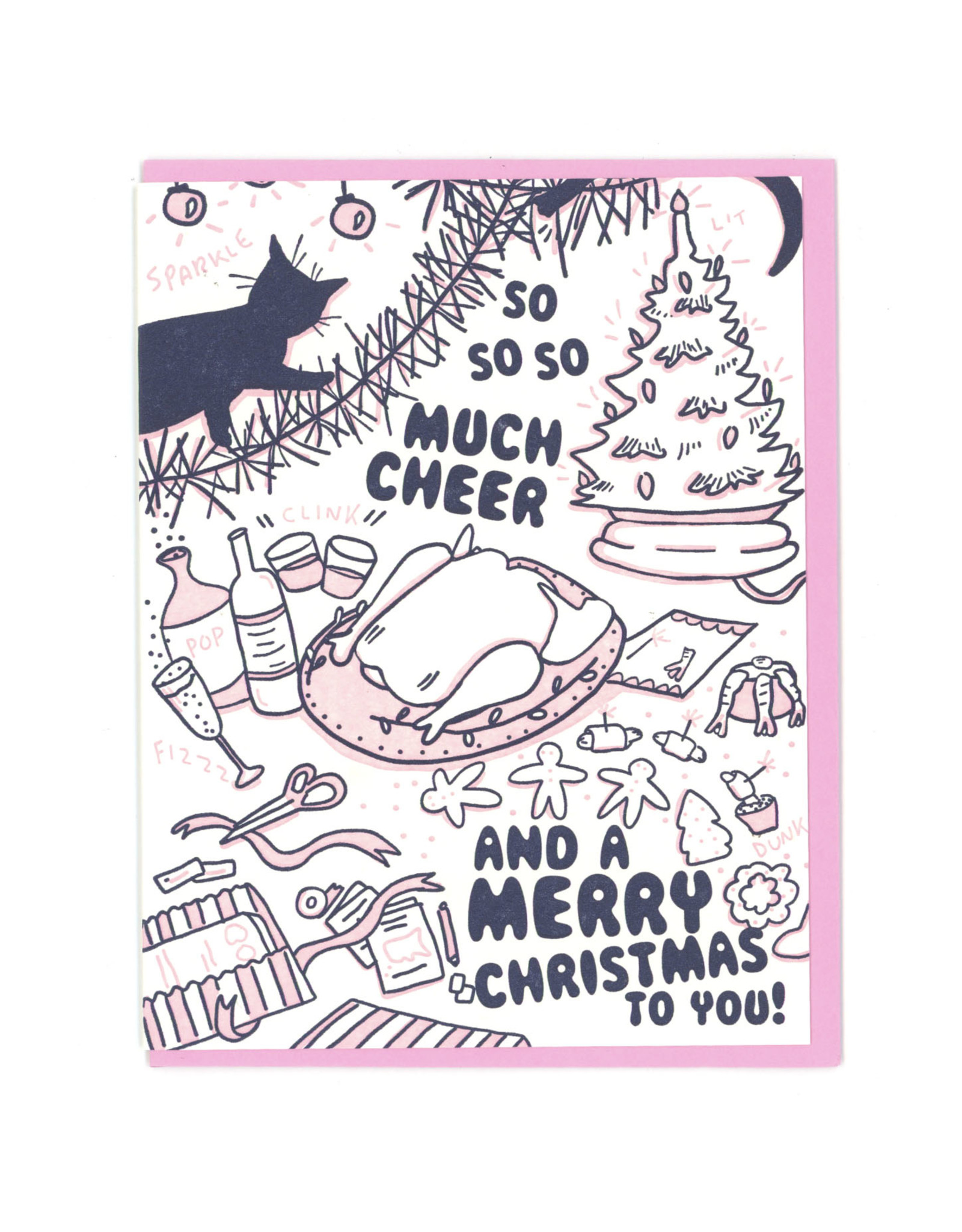 So Much Cheer Greeting Card