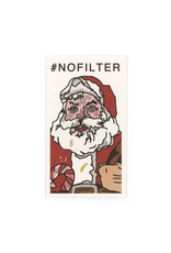 Santa #nofilter Mini Card