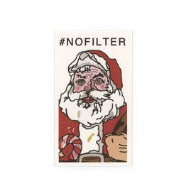 Santa #nofilter Mini Card