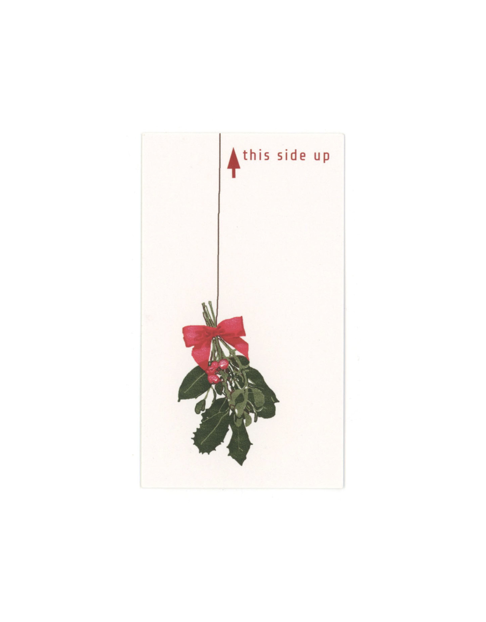 Portable Mistletoe Mini Card
