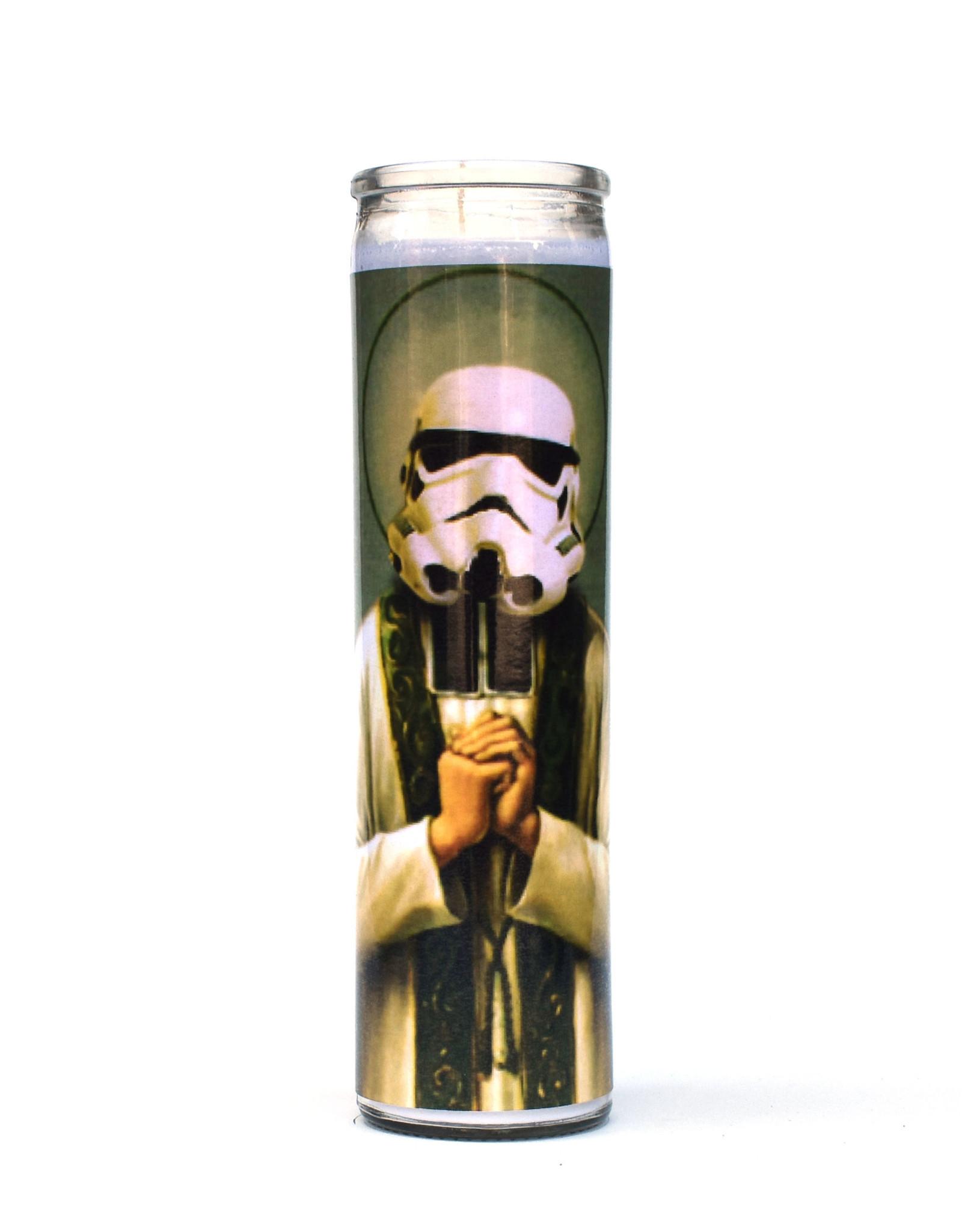 St. Storm Trooper (Star Wars) Prayer Candle