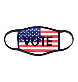VOTE Flag Face Mask