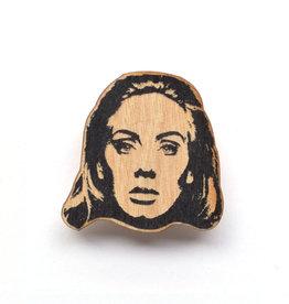 Adele Wooden Magnet
