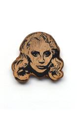 Lady Gaga Wooden Magnet