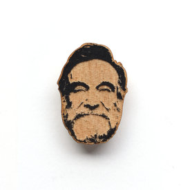 Robin Williams Wooden Magnet