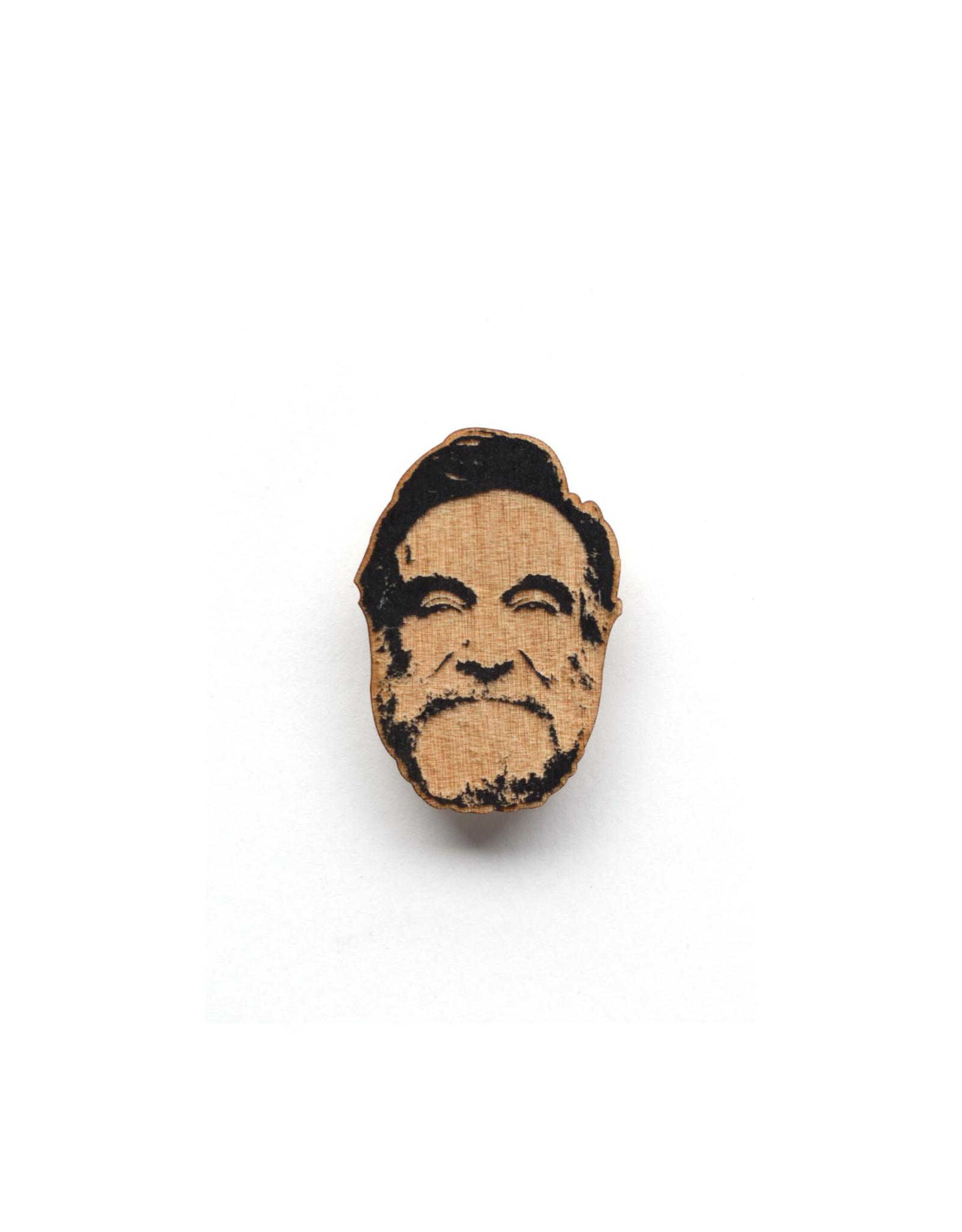 Robin Williams Wooden Pin
