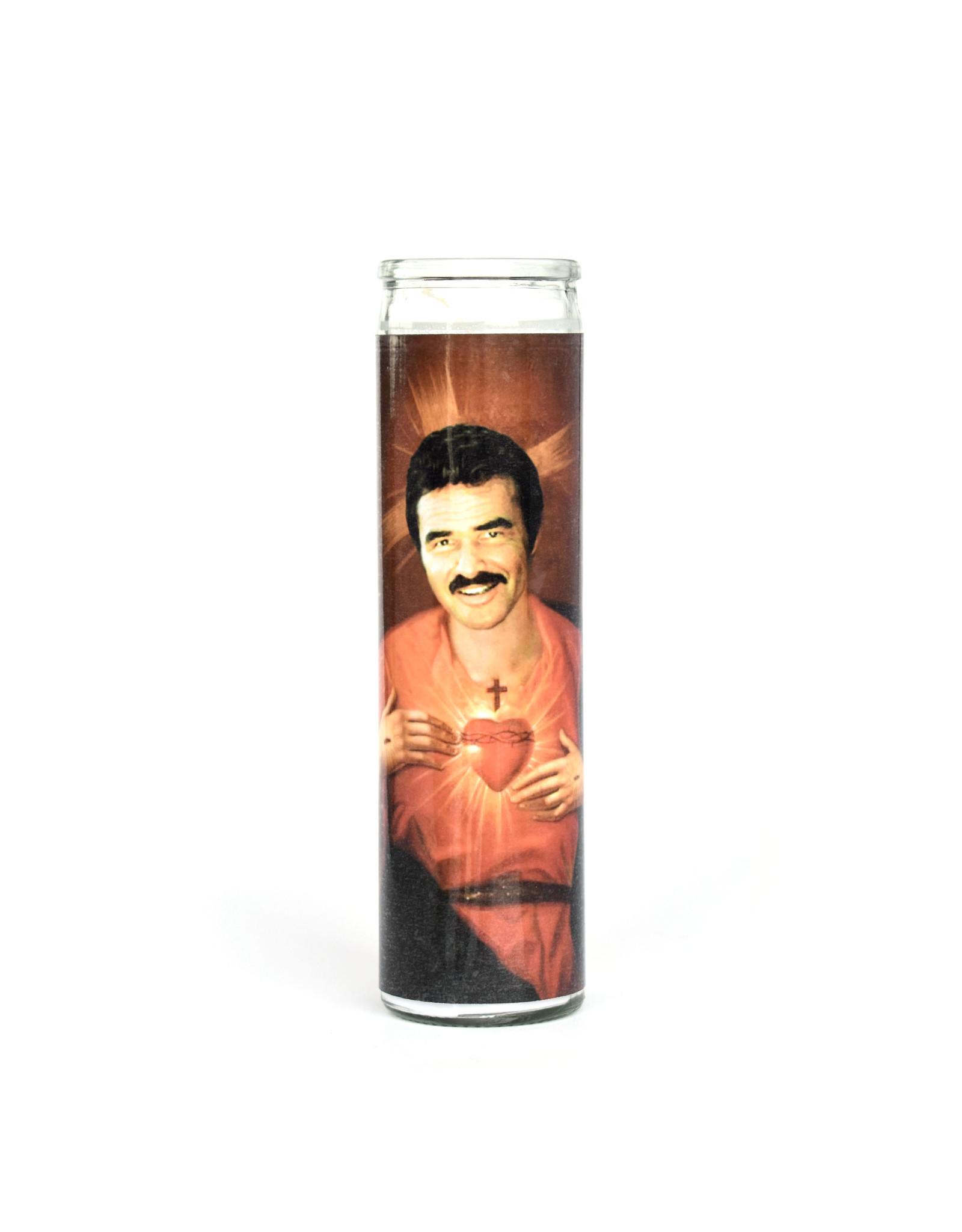 St. Burt Reynolds Prayer Candle