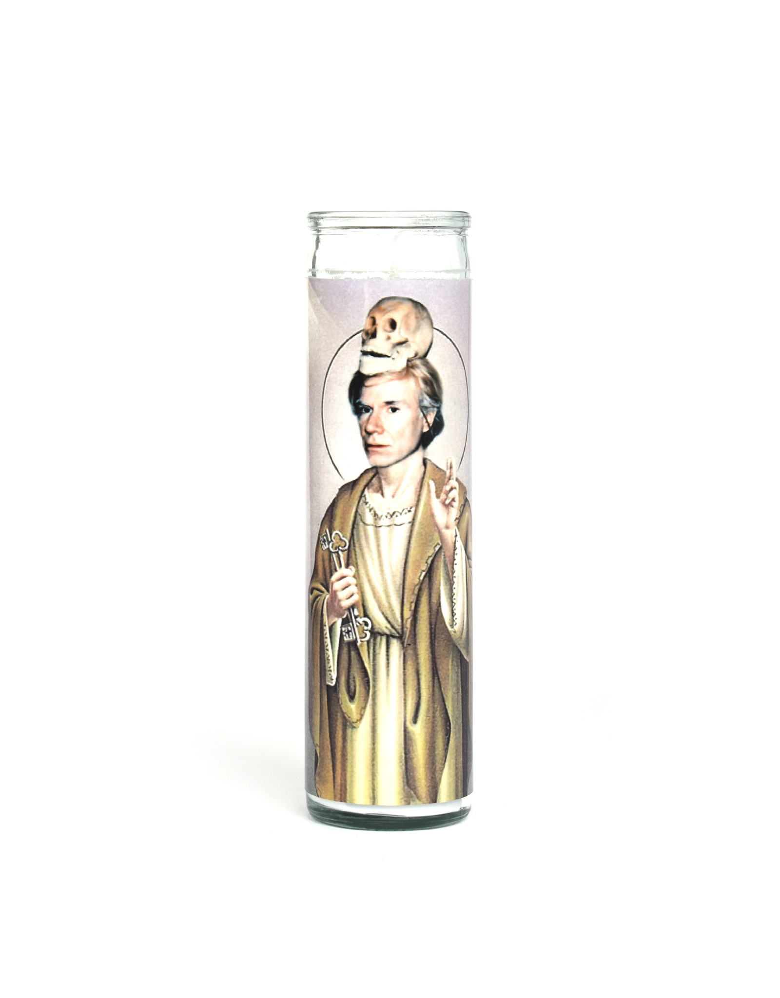 St. Andy Warhol Prayer Candle
