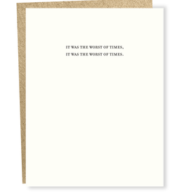 It Was the Worst of Times Greeting Card