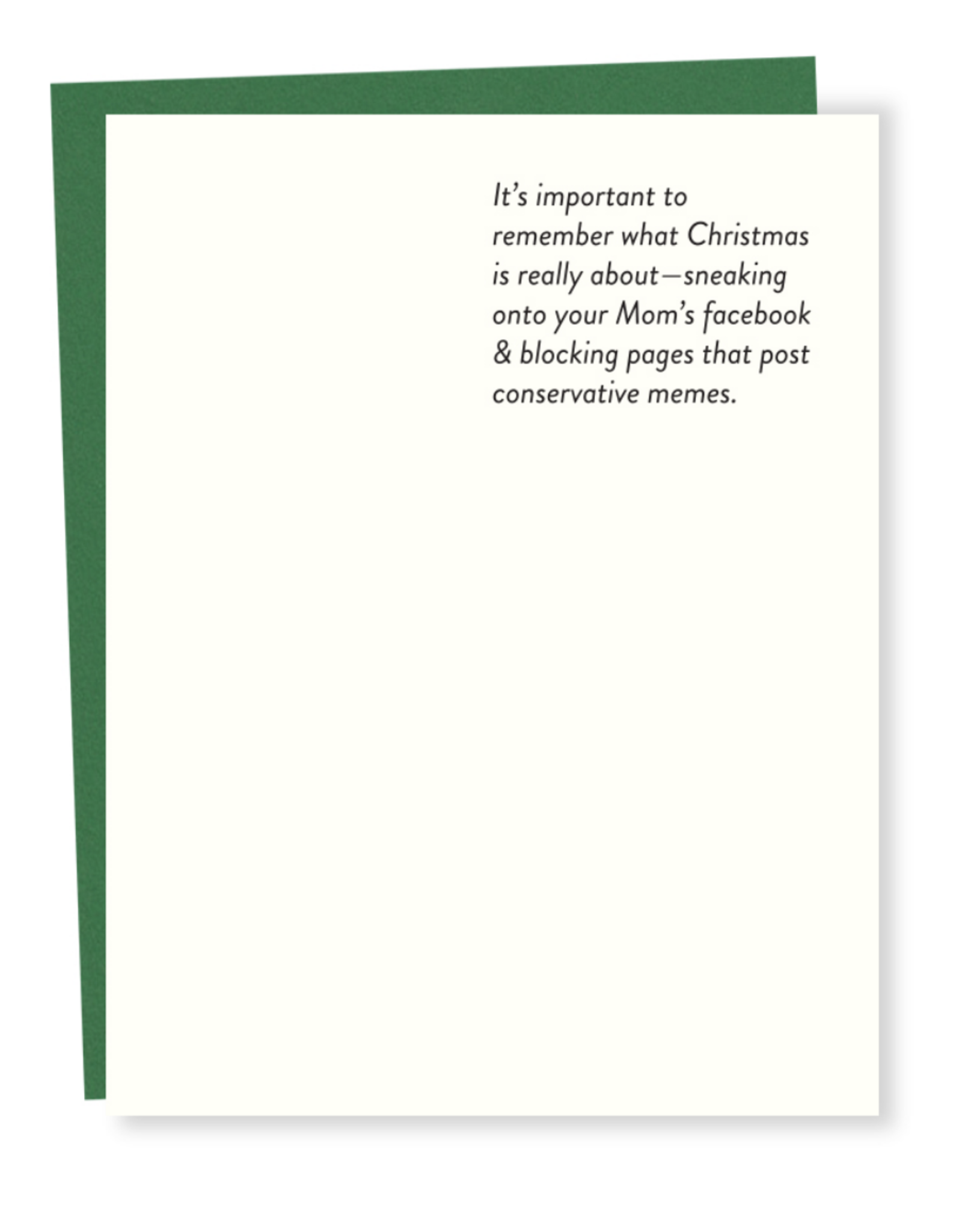 It's Important to Remember What Christmas is About Greeting Card