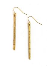 Resilience Earrings (Brass or Silver!)