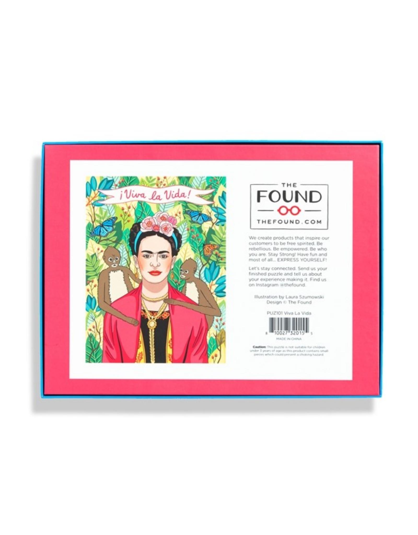 Viva La Frida Puzzle 500 Pieces