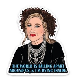 Moira Schitt's Creek Sticker