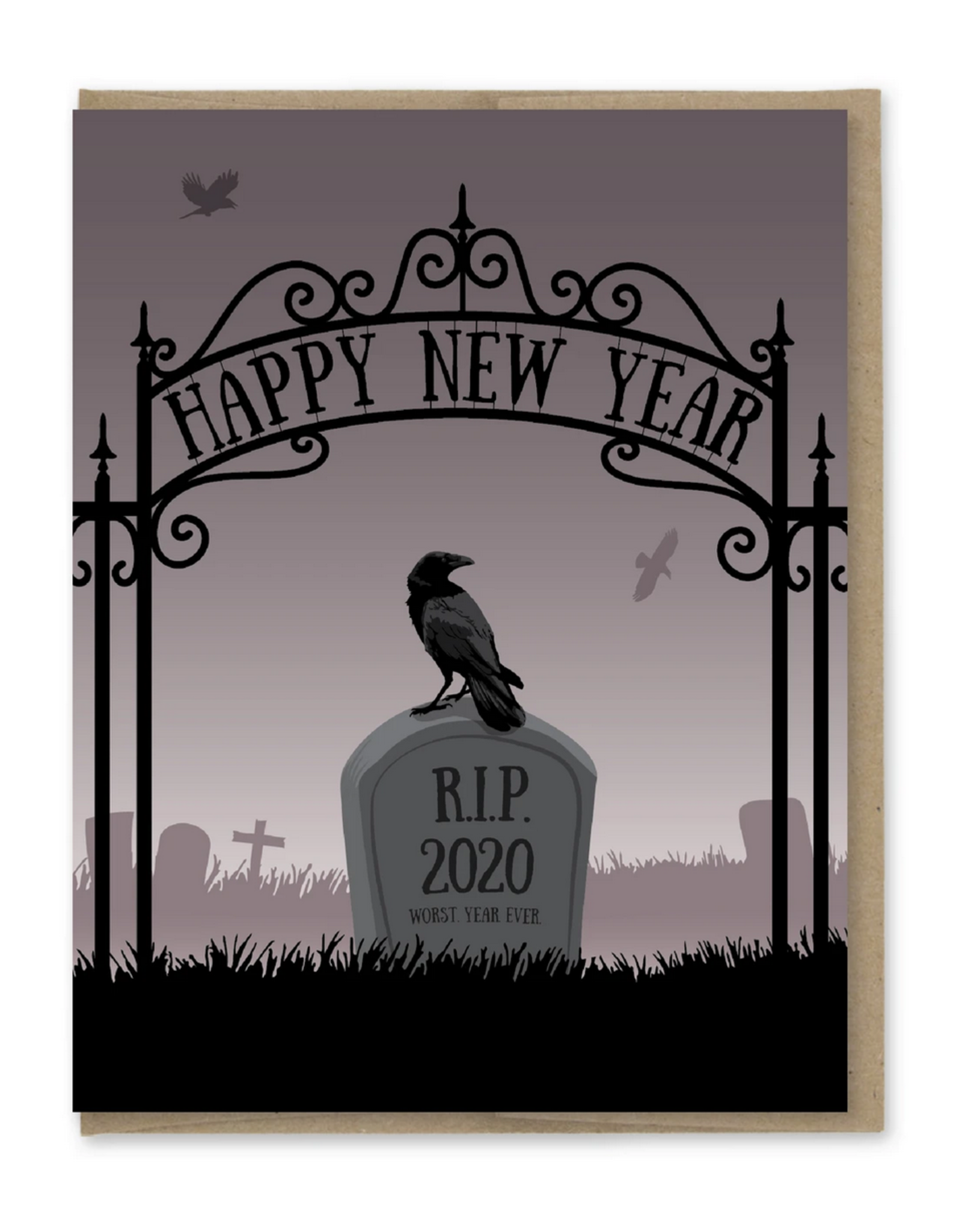 Happy New Year (RIP 2020) Greeting Card