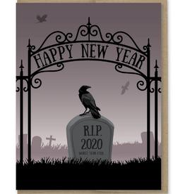 Happy New Year (RIP 2020) Greeting Card