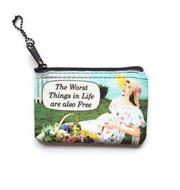 The Worst Things in Life  Zipper Case