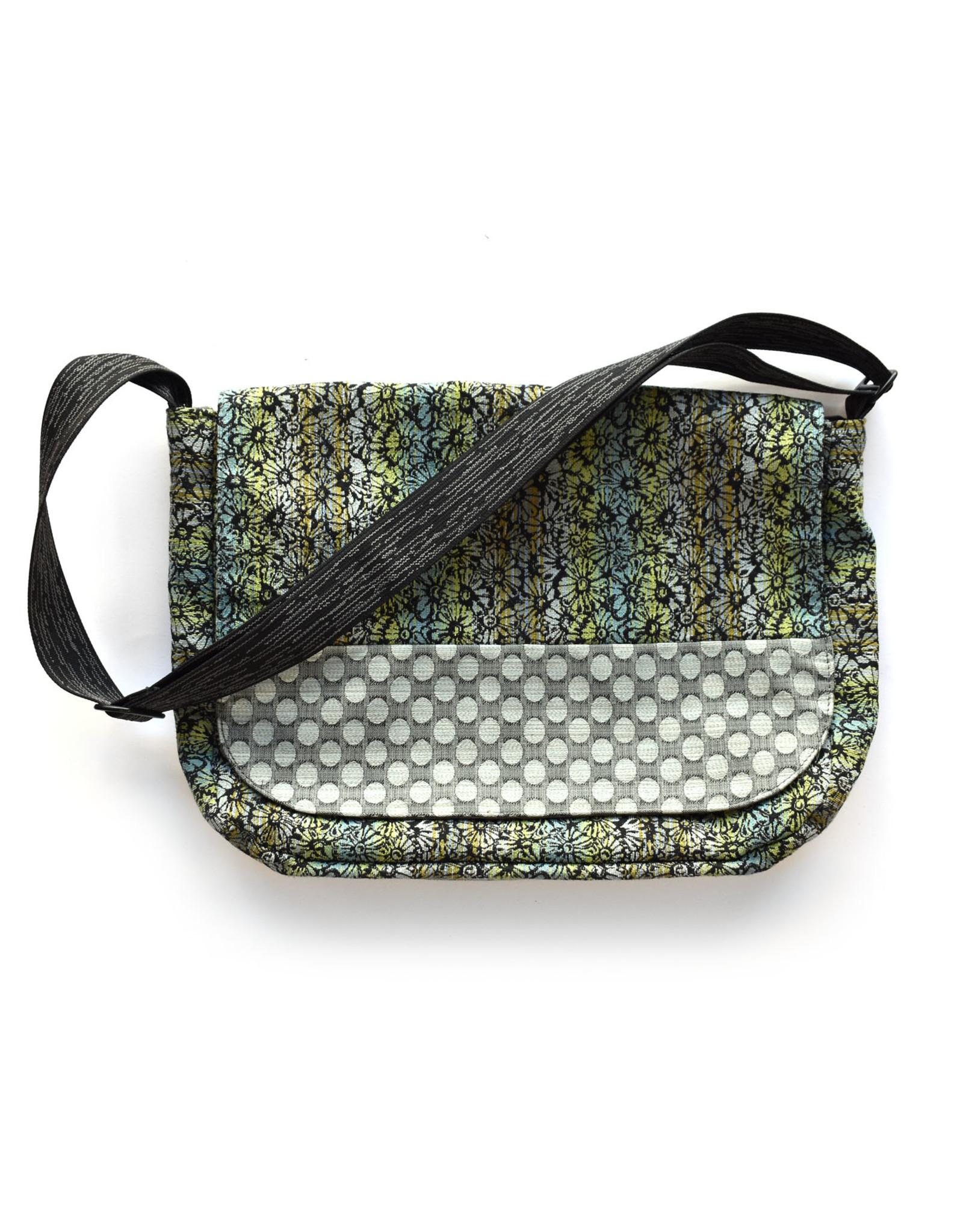 Metro Messenger Bag - Flower Wash