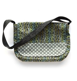 Metro Messenger Bag - Flower Wash