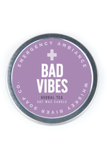 Bad Vibes Tin Candle