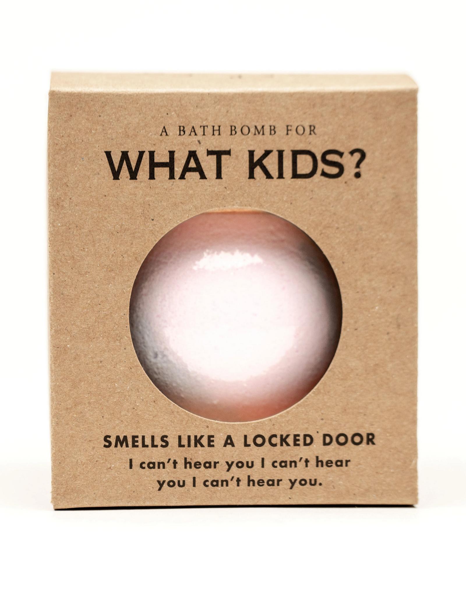 What Kids? Bath Bomb