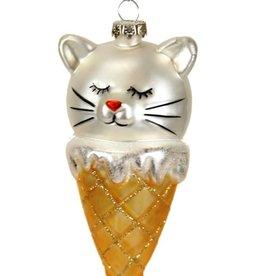 Kitty Cone Ornament