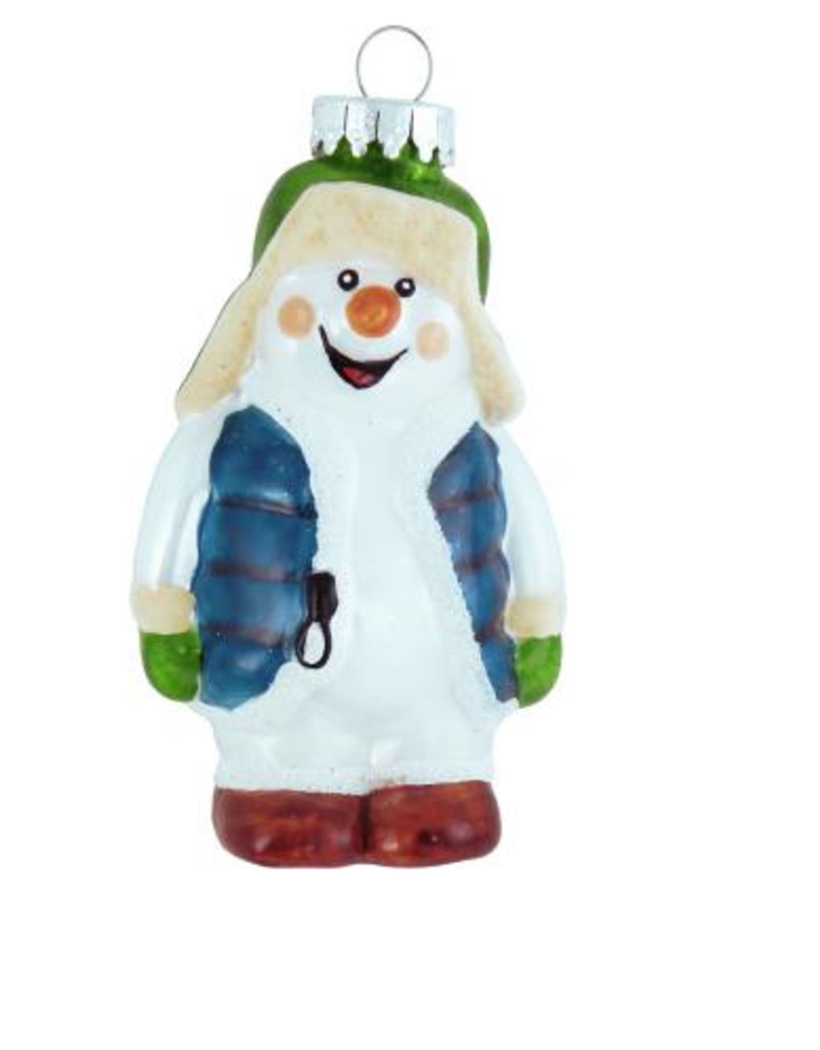 Snowman in Floppy Hat Ornament