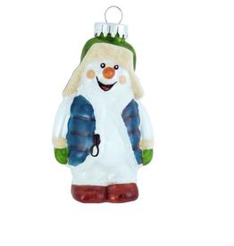 Snowman in Floppy Hat Ornament