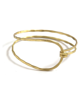 Revival Clasp Bracelet - Brass