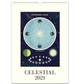2021 Wall Calendar : Celestial