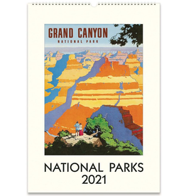 2021 Wall Calendar : National Parks