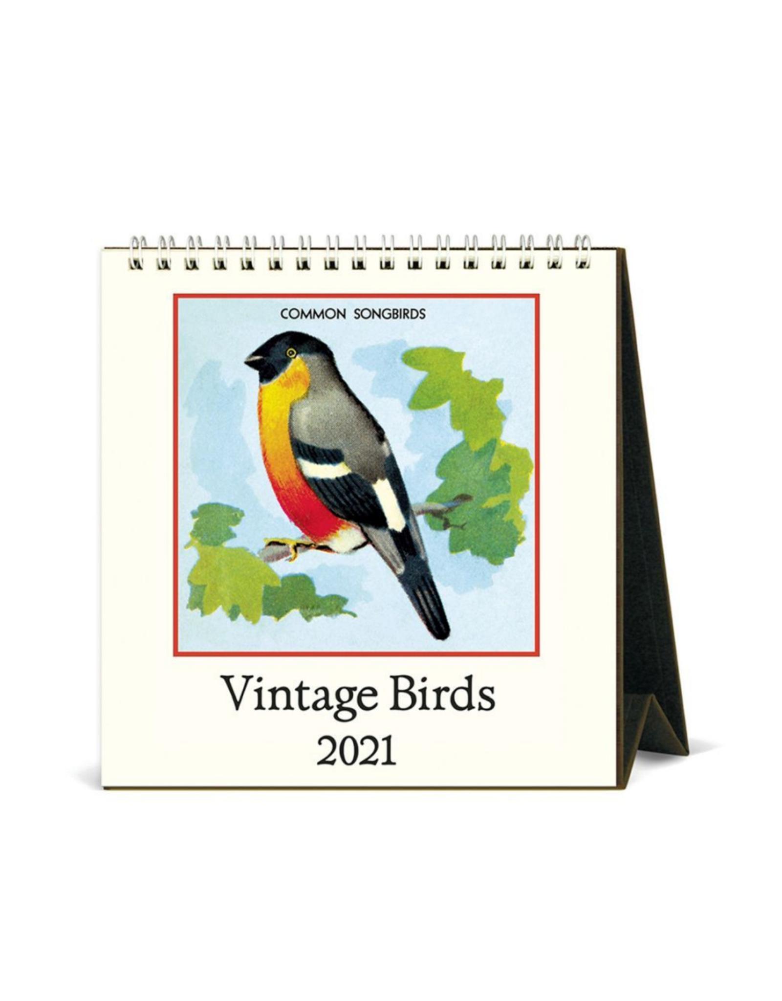2021 Desk Calendar: Birds