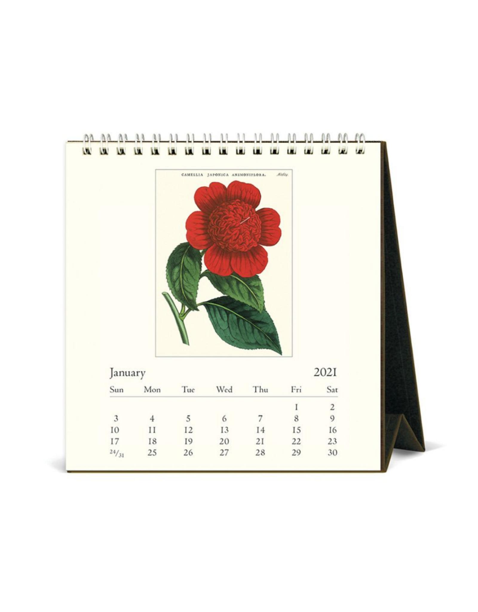 2021 Desk Calendar: Botanica