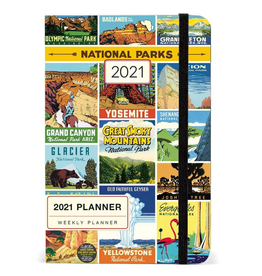 2021 Weekly Planner: National Park