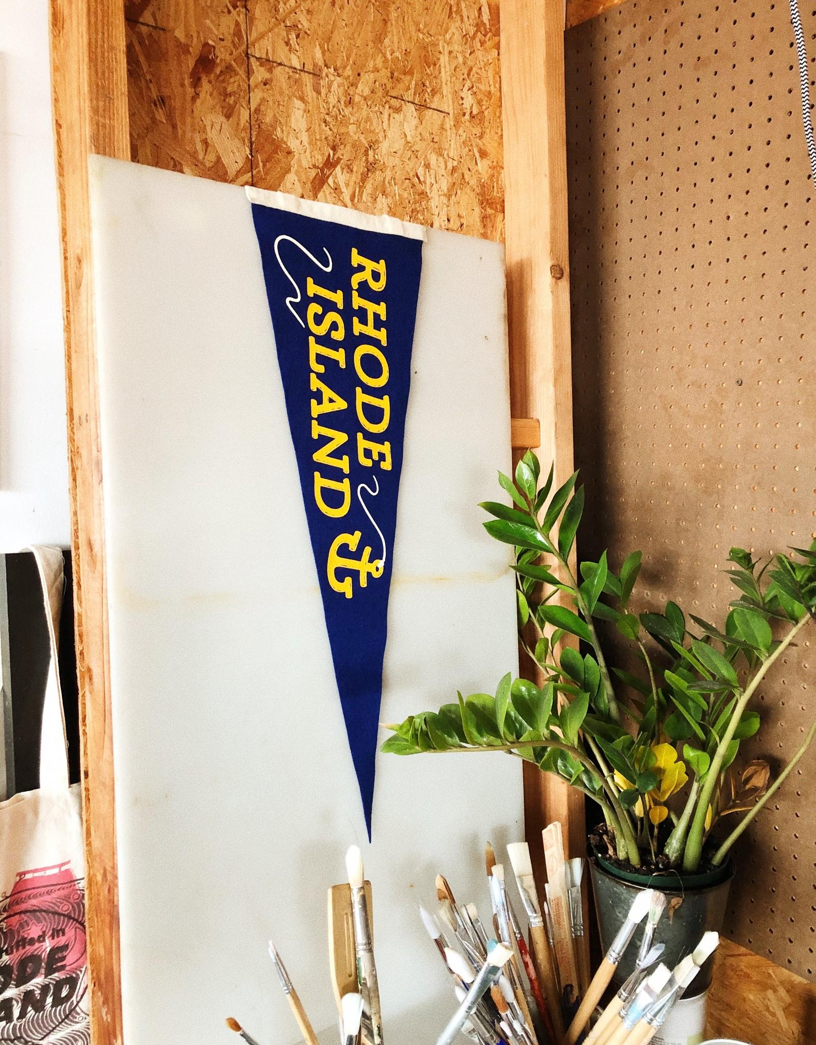 Rhode Island Anchor Pennant